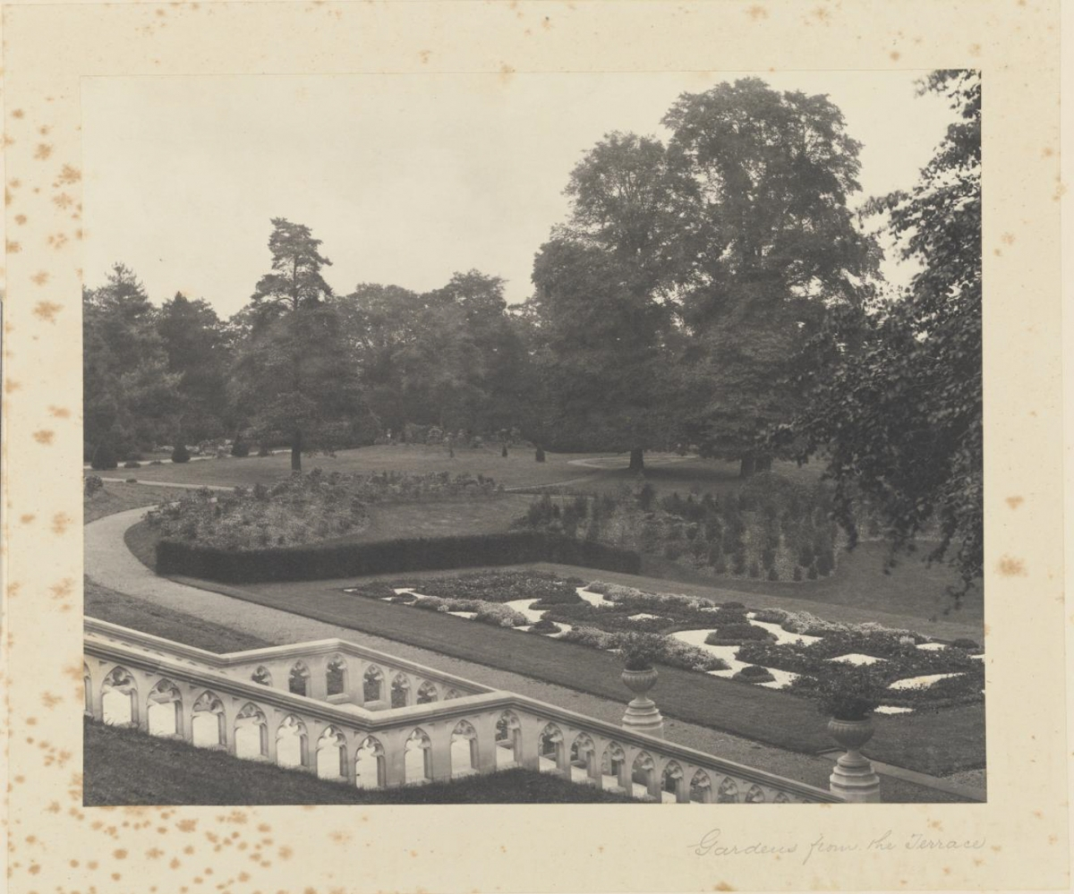 Gardens from the Terrace