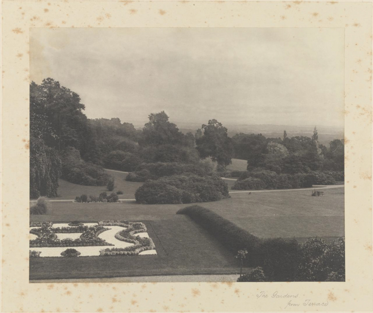 The Gardens from Terrace